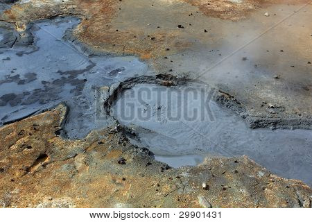 Seltun, Iceland - Active Volcanic Area In Reykjanes Peninsula