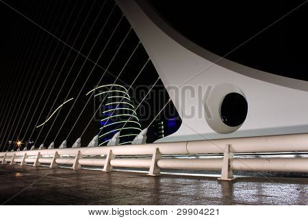 Samuel Beckett Bridge In Ireland