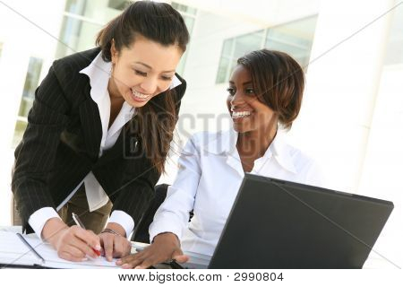 Diverse Women Business Team
