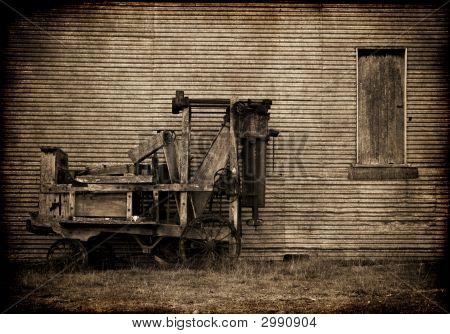 Old Farm Baler