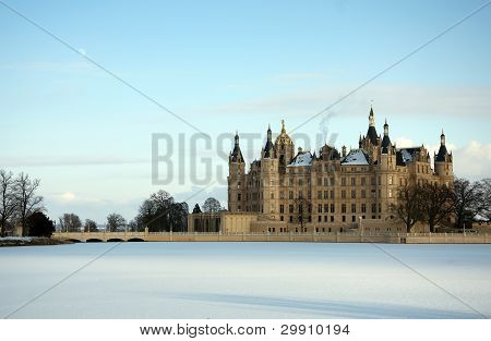 Germany Castle In Schwerin