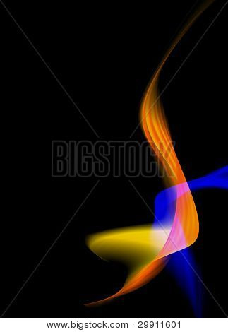 dynamic electric background