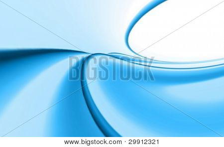 blue waves design illustration