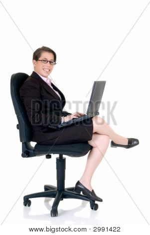 Attractive Young Secretary