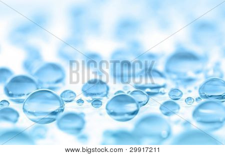 macro of water drops (shallow DOF); water series F
