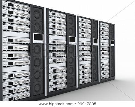 Server-Zeile