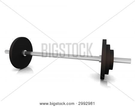 Barbell On Floor