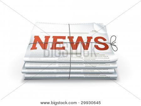 Noticias, vector