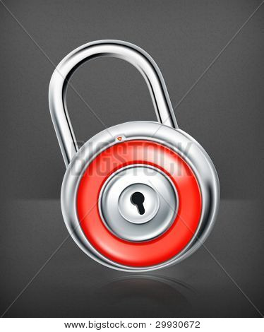 lock, vector icon