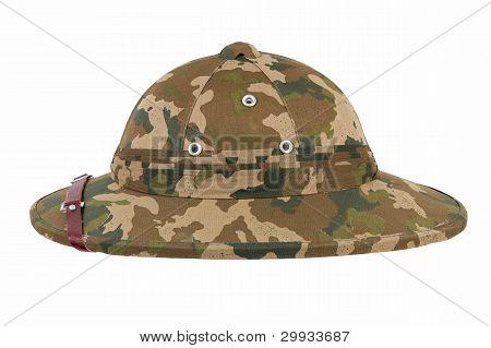 Khaki Pith Helmet
