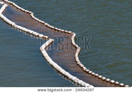 Buoys in Lake