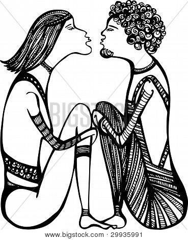 Beijo.