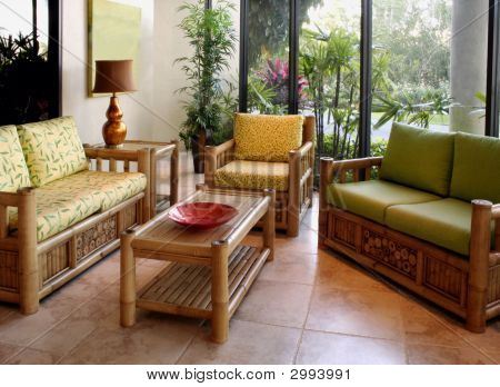 Furniture In Floridian Home