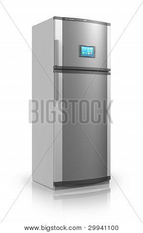 Refrigerador con interfaz de pantalla táctil