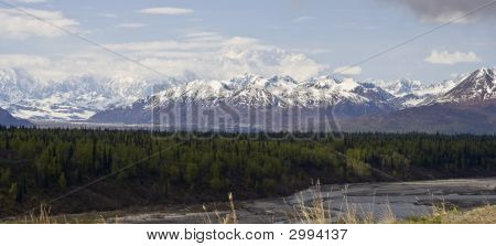 Denali Mountain In Alaska