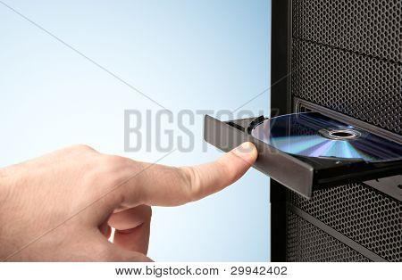 Loading a CD