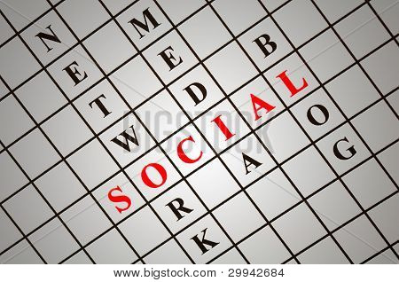 Social  Crossword