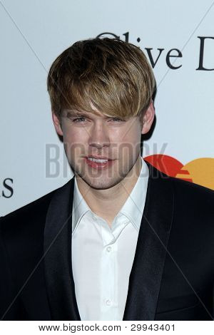 LOS ANGELES - FEB 11: Chord Overstreet arriving at the Pre-Grammy Party hosted by Clive Davis at the Beverly Hilton Hotel on February 11, 2012 in Beverly Hills, CA
