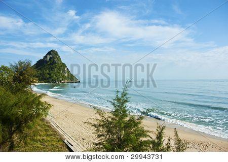 Beach sea in Thailand