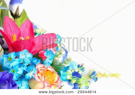 plastic flower design