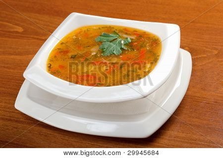 .minestrone Vegetable Soup