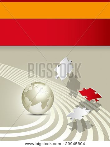 Business brochure - corporate background design - advertising template