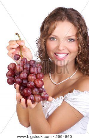 Mulher uva