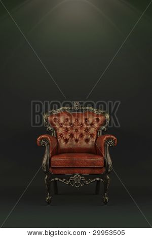 Classic luxurious armchair