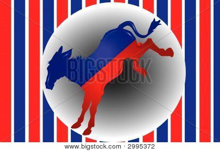 Demokraten Esel