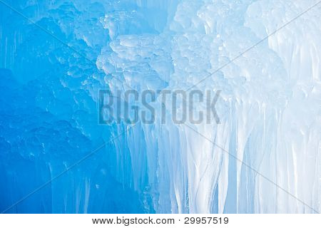 Deep Blue Icicles