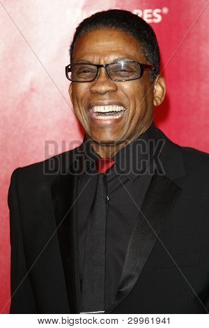 LOS ANGELES, CA - FEB 10: Herbie Hancock at the 2012 MusiCares Person of the Year Tribute To Paul McCartney at the LA Convention Center on February 10, 2012 in Los Angeles, California