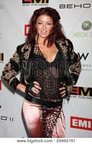 LOS ANGELES, CA - FEB 13: Neon Hitch at the EMI GRAMMY After-Party at Milk Studios on February 13, 2011 in Los Angeles, California