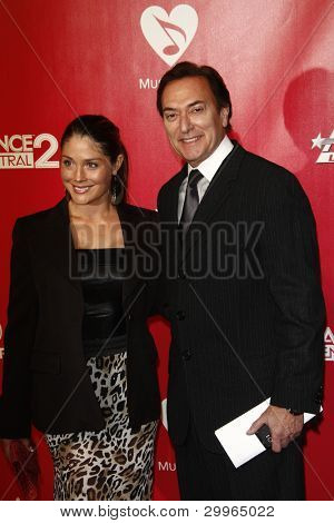 LOS ANGELES, CA - FEB 10: Robert Desantis; Chanel Marie at the 2012 MusiCares Person of the Year Tribute To Paul McCartney at the LA Convention Center on February 10, 2012 in Los Angeles, California