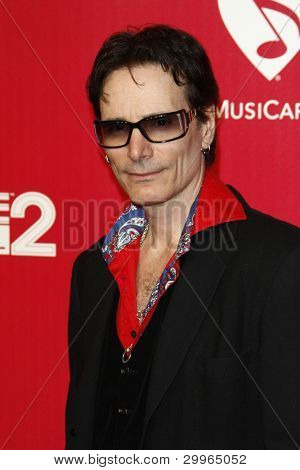 LOS ANGELES, CA - FEB 10: Steve Vai at the 2012 MusiCares Person of the Year Tribute To Paul McCartney at the LA Convention Center on February 10, 2012 in Los Angeles, California