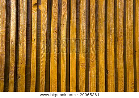 Yellow-painted Wooden Wall Impeachment Small Board