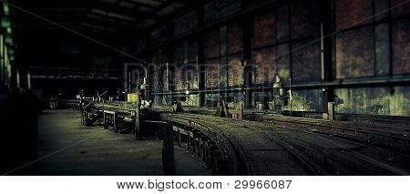 The end of the railroad