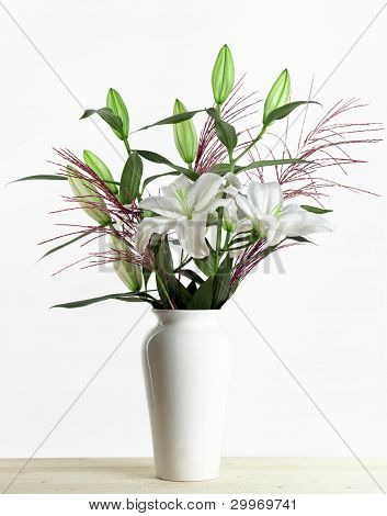 White Lily Bouquet