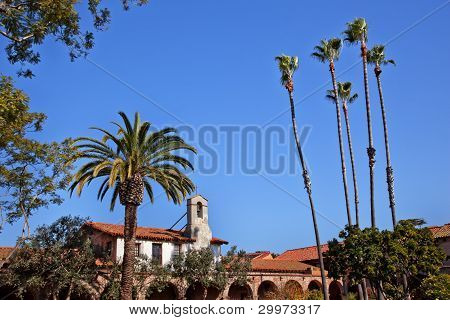 Mission San Juan Capistrano Church California