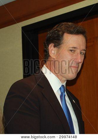 WASHINGTON,DC FEBRUARY 2012 Rick Santorum