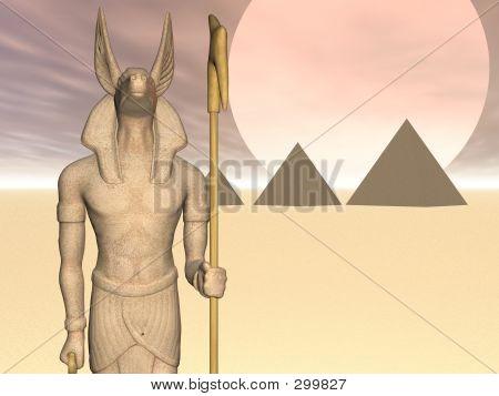 Anubis Of The Pyramids