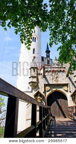 Manificent Gutenberg Castle in Balzers, Liechtenstein.