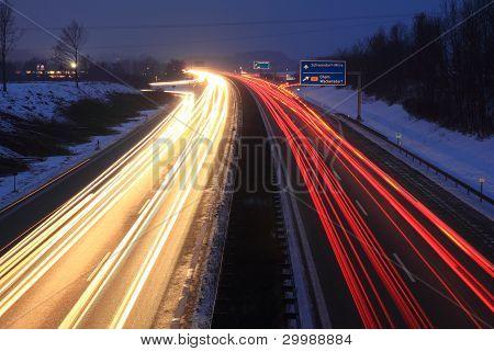 Sundown no Autobahn