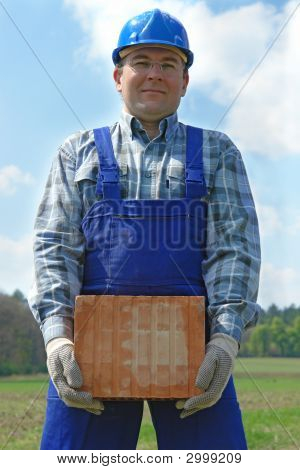 Builder With Hollow Brick