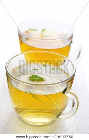 Herbal tea leaf for glass cup- Healthy Eating