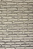 foto of arriere-plan  - white roughly textured brick wall painted with white paint - JPG