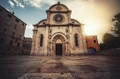 Cathedral Of St James In Sibenik, Croatia. poster