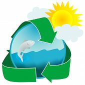 Healthy Water Ecology Icon