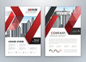 Modern Red Brochure Design, Brochure Template, Brochures, Brochure Layout, Brochure Cover, Brochure  poster