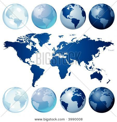 Blue Globe Kit