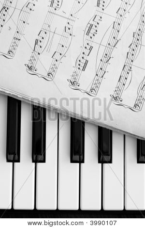 Piano Keys And Notes